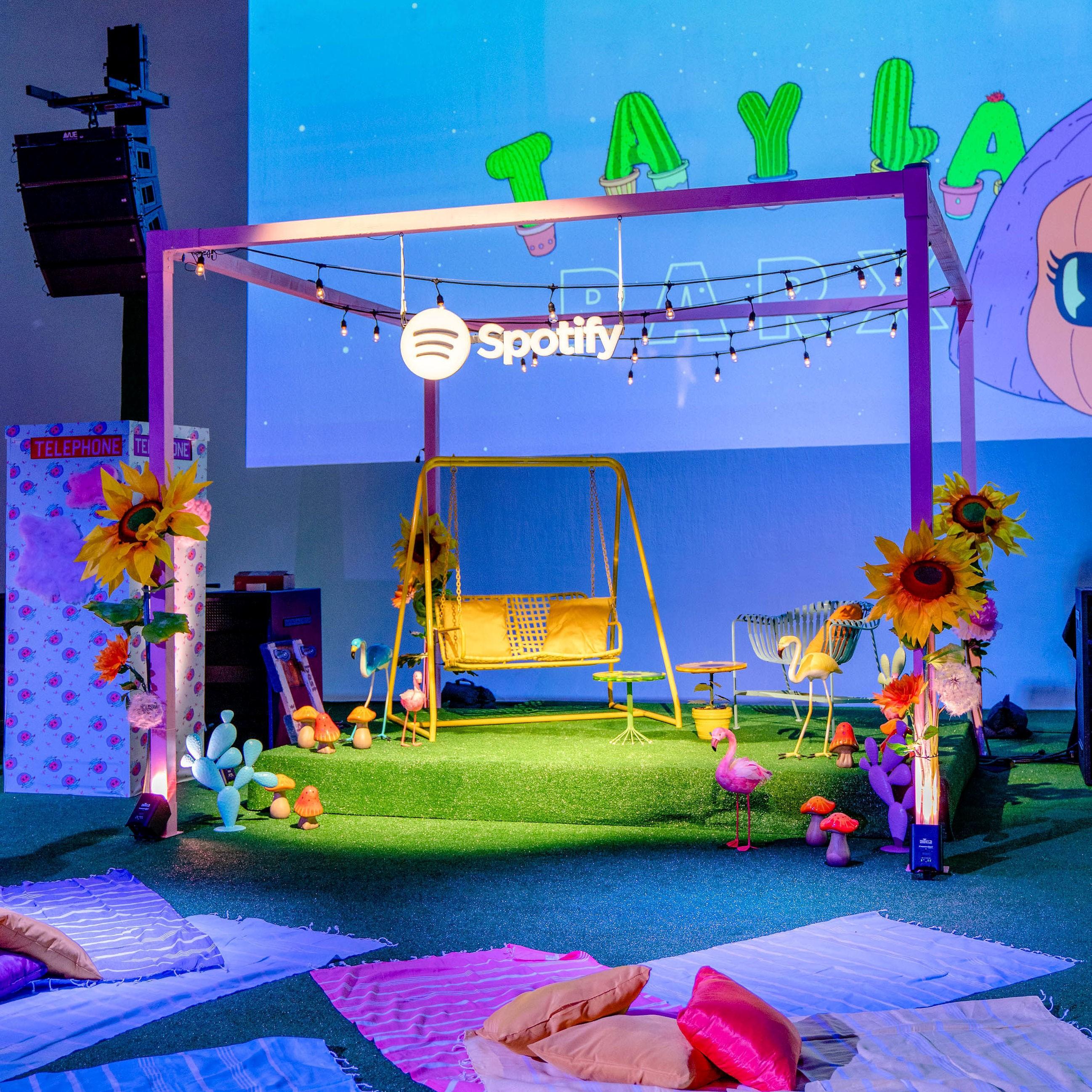 Case Study: Spotify x Tayla Park